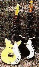 Vintage Guitars Info - Danelectro Silvertone Coral vintage ... on