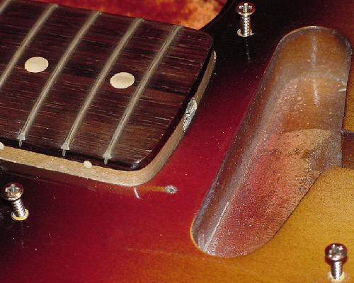 Vintage Guitars Info - Fender custom color finishes on