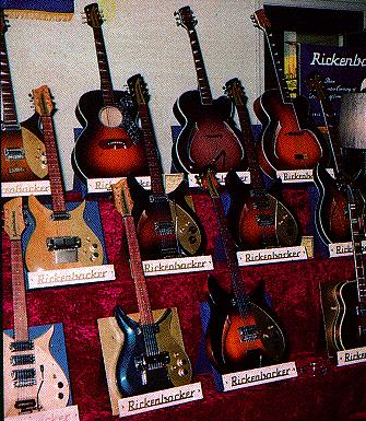 rickenbacker production numbers, 1958-1966